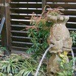バリ風のお庭 石像