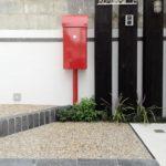 まっ赤なデザインポスト