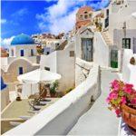 ギリシャのイメージの白い壁。いつまでも白さを保つ壁のお手入れ方法