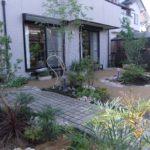 お庭の改修工事
