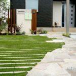 大阪の外構工事業者が解説|天然芝と人工芝のメリットとデメリット