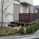 京田辺のエクステリア業者がウッドデッキの簡単お手入れのコツを教えます。