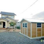 木製小屋のようなおしゃれ物置(東近江市)
