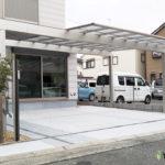 梁延長可能なカーポート(茨木市)