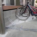 サイクルラックで駐輪しやすい!(草津市)