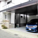 ラグジュアリーなカーポート(長岡京市)